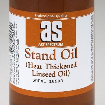 Art Spectrum Stand Linseed Oil - 500ml/1L