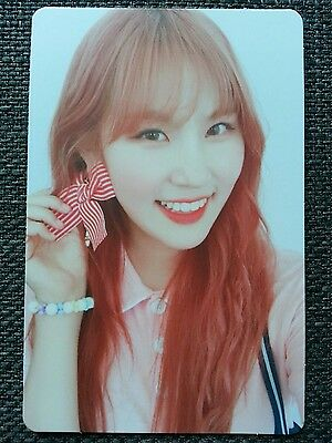 PRISTIN YEHANA Official PHOTOCARD #2 2nd Mini Album SCHXXL OUT 예하나