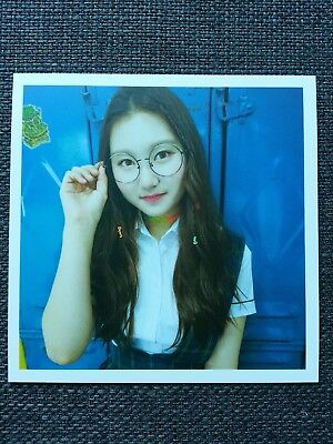 PRISTIN SUNGYEON Official Postcard PHOTOCARD #3 2nd Mini Album SCHXXL OUT 성연