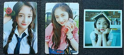 LOT of 3 PRISTIN KYULKYUNG Official Postcard PHOTOCARD 2nd Mini Album SCHXXL OUT