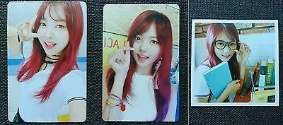 LOT of 3 PRISTIN NAYOUNG Official Postcard PHOTOCARD 2nd Mini Album SCHXXL OUT