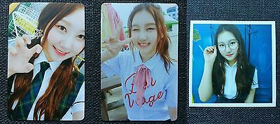 LOT of 3 PRISTIN SUNGYEON Official Postcard PHOTOCARD 2nd Mini Album SCHXXL OUT