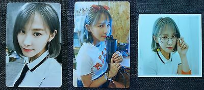 LOT of 3 PRISTIN YUHA Official Postcard PHOTOCARD 2nd Mini Album SCHXXL OUT 유하