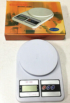 7kg/1g Kitchen Scale Digital LCD Electronic Postal Weight Food Balance Scales