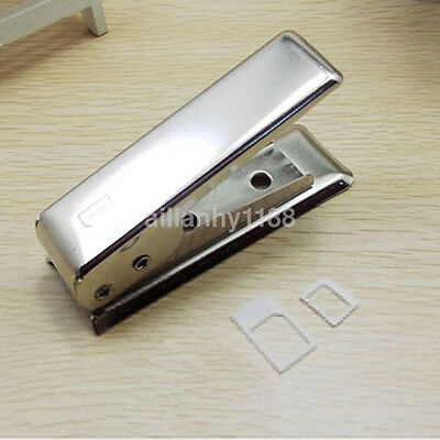 Hot Standard Micro To Nano SIM Card Metal Cutter +2 Adapters For iPhone5 5th CA