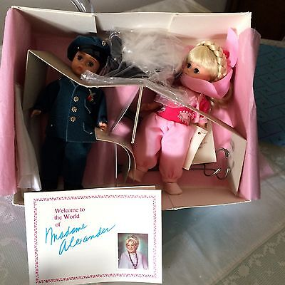I Dream of Jeannie Madame Alexander RARE Barbara Eden MINT box Major Nelson doll