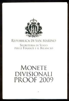 SAN MARINO DIVISIONALE 2009 PROOF - PROOF - 2009n