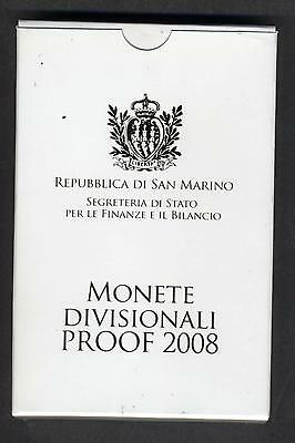 SAN MARINO DIVISIONALE 2008 PROOF  - PROOF  - 2008n