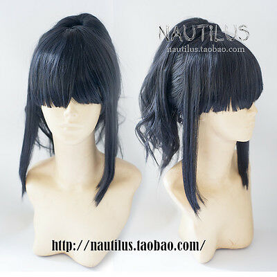 Blue Bow Anime Peter Pan Wendy Darling Costume Cosplay Wig Wig Cap Track
