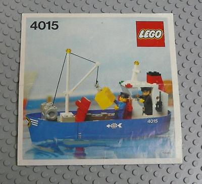 LEGO INSTRUCTIONS MANUAL BOOK ONLY 4015 Freighter x1PC