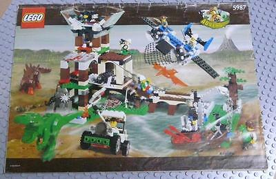 LEGO INSTRUCTIONS MANUAL BOOK ONLY 5987 Dino Research Compound x1PC