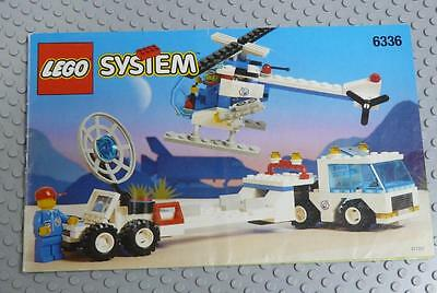 LEGO INSTRUCTIONS MANUAL BOOK ONLY 6336 Launch Response Unit x1PC