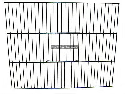 Wire Bird Cage Front 45 or 60cm breeding box mesh door canary bars cabinet finch