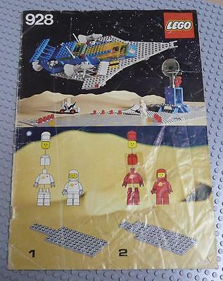 LEGO INSTRUCTIONS MANUAL BOOK ONLY 928 Galaxy Explorer x1PC
