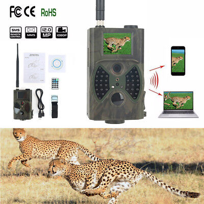 HC-300M HD 1080p Hunting Trail Digital Wild Animal Camera Scout Infrared 12MP