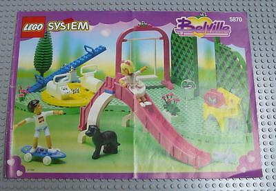 LEGO INSTRUCTIONS MANUAL BOOK ONLY 5870 Pretty Playland x1PC