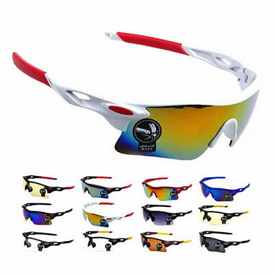 Sunglasses Cycling Eyewear Glasses  Bike Sports Goggles Outdoor Bicycle Lens AU