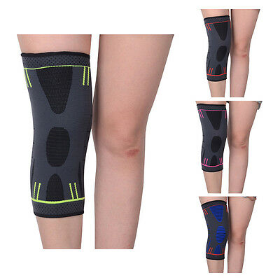 1 men and women sports knee-lift protective gear warm breathable nylon knee E6D7