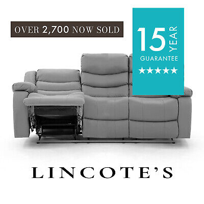 Brilliant Lothian Fully Reclining Lazyboy Leather Recliner Sofa 3 2 Gmtry Best Dining Table And Chair Ideas Images Gmtryco