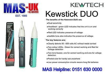Kewstick Duo - Unique Dual Sensitivity Voltage Detector