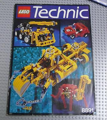 LEGO INSTRUCTIONS MANUAL BOOK ONLY Idea Book 8891, Technic x1PC