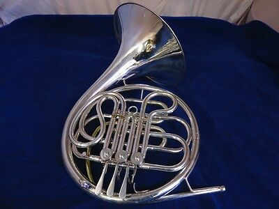Conn Silver French Horn, Single, Vintage Horn!!