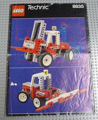 LEGO INSTRUCTIONS MANUAL BOOK ONLY 8835 Forklift x1PC