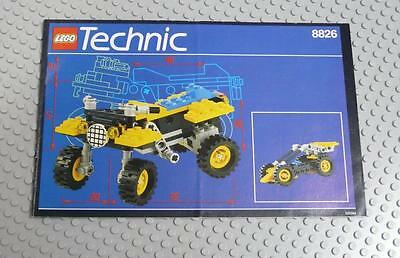 LEGO INSTRUCTIONS MANUAL BOOK ONLY 8826 ATX Sport Cycle x1PC