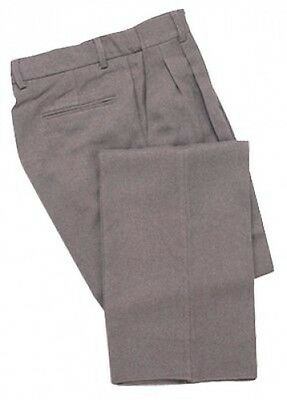 (110cm , Heather Gray) - Adams USA Smitty Expanded Waist Pleated Baseball