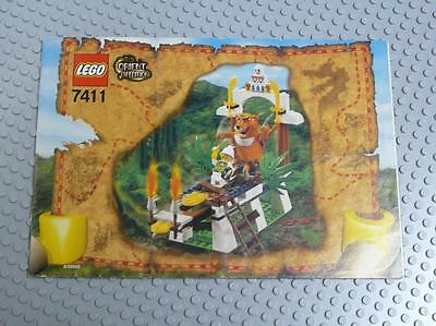 LEGO INSTRUCTIONS MANUAL BOOK ONLY 7411 Tygurah's Roar x1PC