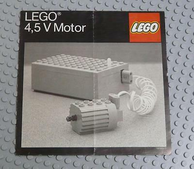 LEGO INSTRUCTIONS MANUAL BOOK ONLY LEGO 4,5 V Motor (98965-D) x1PC