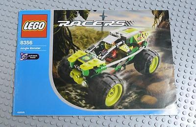 LEGO INSTRUCTIONS MANUAL BOOK ONLY 8356 Jungle Monster x1PC