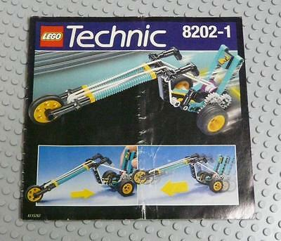 LEGO INSTRUCTIONS MANUAL BOOK ONLY 8202 Bungee Chopper x1PC