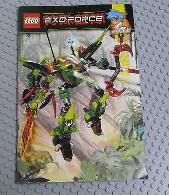 LEGO INSTRUCTIONS MANUAL BOOK ONLY 8114 Chameleon Hunter x1PC