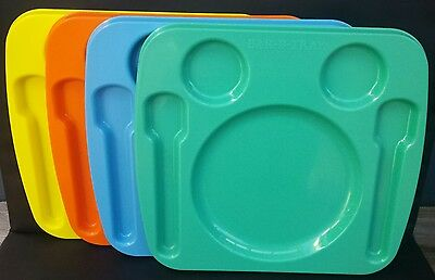 Retro Bar-B-Tray BBQ Camping Picnic Set X 4 Made In Australia (Stable Table)