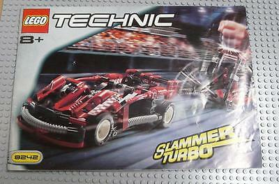 LEGO INSTRUCTIONS MANUAL BOOK ONLY 8242 Slammer Turbo x1PC