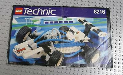 LEGO INSTRUCTIONS MANUAL BOOK ONLY 8216 Turbo 1  x1PC