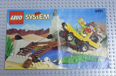 LEGO INSTRUCTIONS MANUAL BOOK ONLY 6490 Amazon Crossing  x1PC
