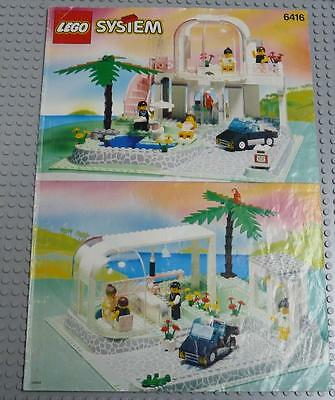 LEGO INSTRUCTIONS MANUAL BOOK ONLY 6416 Poolside Paradise x1PC