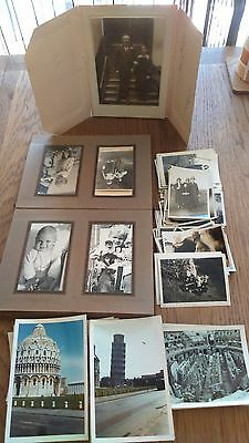 Early 1920-30's Photo Album With Over 200 Old Black & White