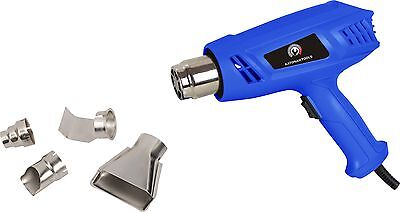 New Heat Gun Hot Air Gun Dual Temperature+ 3 Nozzles Power Tool 1500 Heater Gun