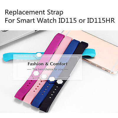 Replacement Strap  For Smart watch ID115 Accessories for ID1115(HR) Smartband