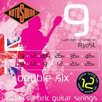 Rotosound R30SL Double six guitar strings
