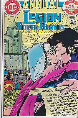The Legion Of Super-Heroes Annual #2 Dc 1983