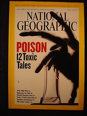National Geographic - May 2005 - Poison