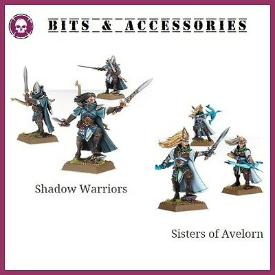 Bits High Elf Aelf Shadow Warriors Sisters Of Avelorn Warhammer Battle Aos