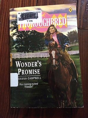 Thoroughbred: Wonder's Promise No. 2 by Joanna Campbell (1991, Paperback)