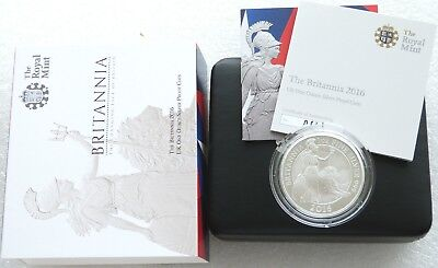 2016 Royal Mint Britannia £2 Two Pound Silver Proof 1oz Coin Box Coa