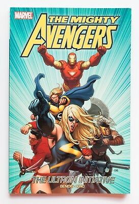 Mighty Avengers The Ultron Initiative Vol. 1 NEW Marvel Graphic Novel Comic Book