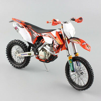 1:12 scale Supercross KTM 350 EXC-F redbull Motorcycle Diecast Model Motocross